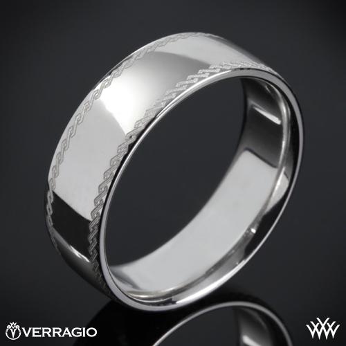 Verragio 7NLZ-07 Etched Wedding Ring