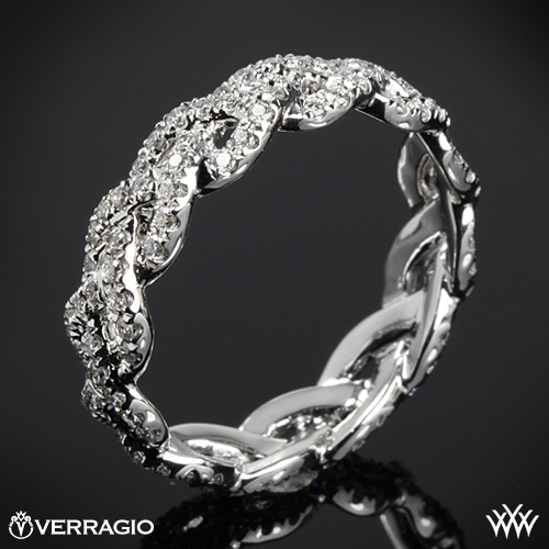Verragio WED-4023 Eternal Braid Diamond Wedding Ring