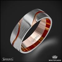 Simon G Lg133 Men S Wedding Ring Whiteflash 4079