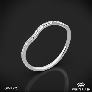 Simon G. MR1394 Fabled Diamond Wedding Ring