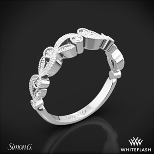 Simon G. TR473 Duchess Diamond Wedding Ring
