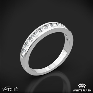 Vatche 1020 Channel Diamond Wedding Ring