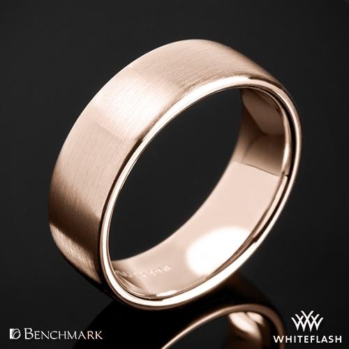 Benchmark CF717561 Euro Satin Wedding Ring