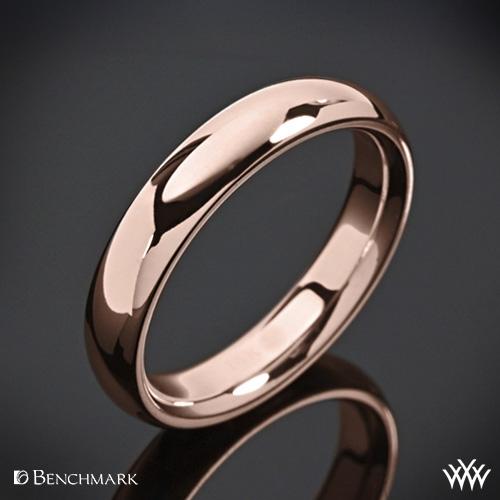 Benchmark Comfort Fit Wedding Ring