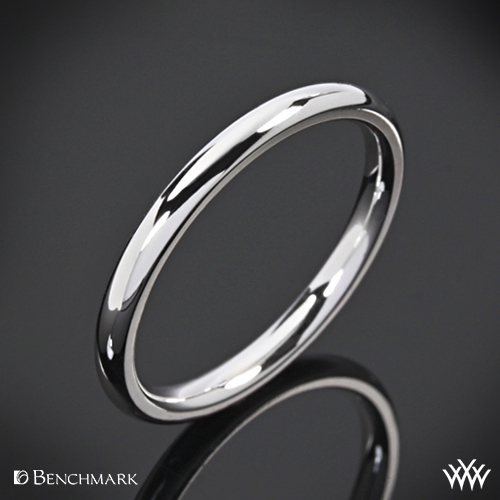 "Benchmark ""Comfort Fit"" Wedding Ring"