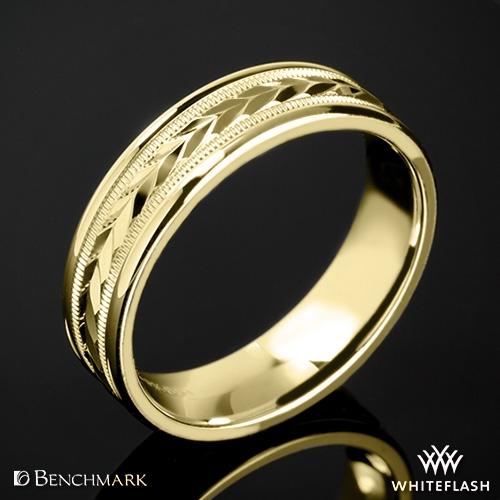 Benchmark RECF7603 Arrow Cut Wedding Ring