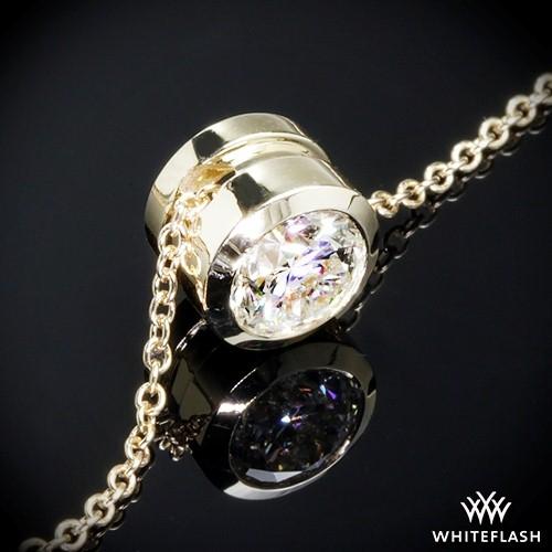 Full Bezel Diamond Pendant