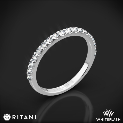 Ritani 21323 French-Set Diamond Wedding Ring