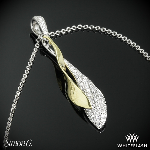 Simon G. DP198 Diamond Pendant