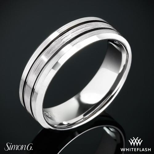Simon G. LP2189 Men's Wedding Ring