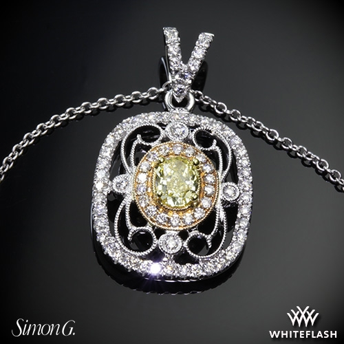 Simon G. TP201 Duchess Diamond Pendant