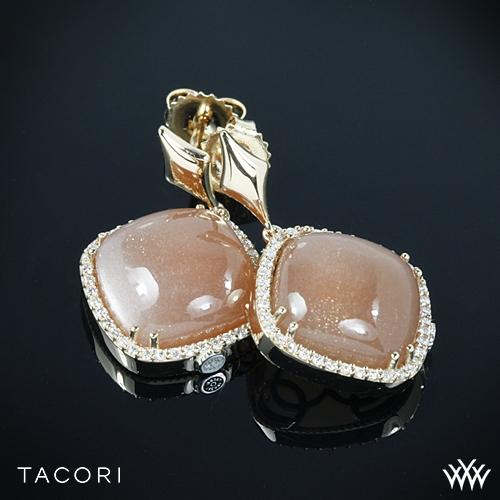 Tacori SE182P36 Moon Rosé Cushion Drop Earrings