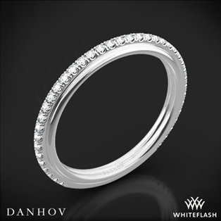 Danhov CB118-Q Classico Her Diamond Wedding Ring
