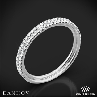 Danhov LB101-Q Per Lei Diamond Wedding Ring