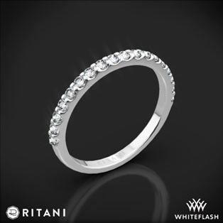 Ritani 21323 French-Set Diamond Wedding Ring