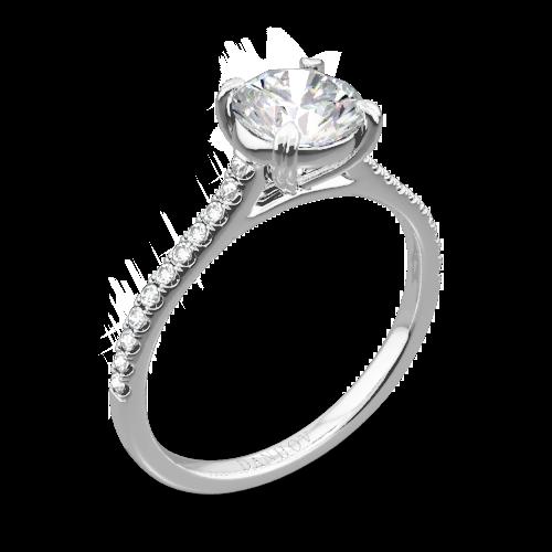 Danhov Cl138 Clico Single Shank Diamond Engagement Ring