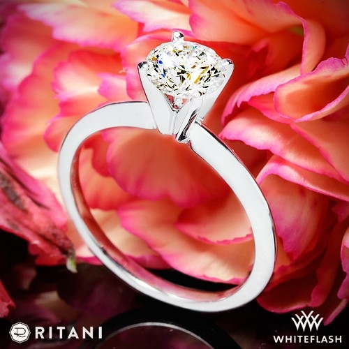 Ritani 1RZ7286 Solitaire Engagement Ring