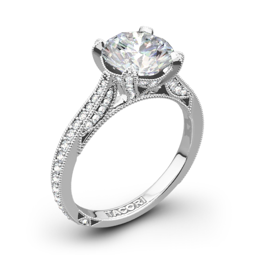 Tacori HT2627RD RoyalT Diamond Engagement Ring