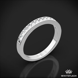 Bead-Set Diamond Wedding Ring