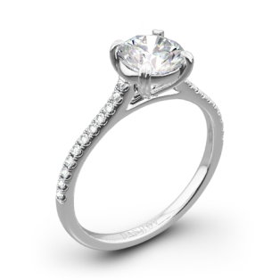 Danhov CL138 Classico Single Shank Diamond Engagement Ring