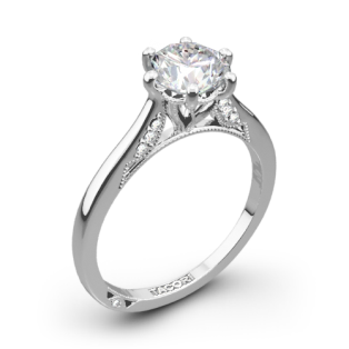 Tacori 2650RD Simply Tacori Solitaire Engagement Ring