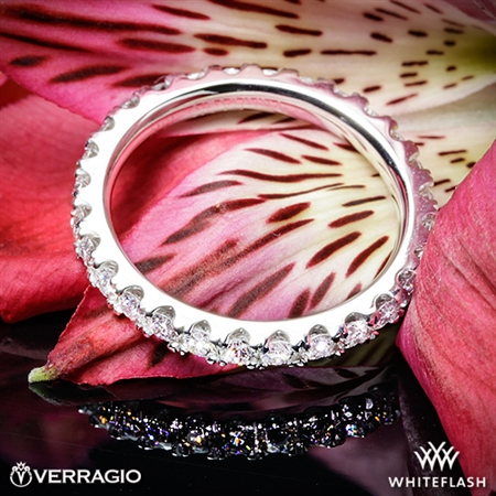 Verragio ENG-0350W Full Eternity Diamond Wedding Ring