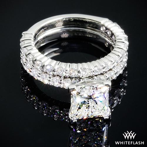 ee464dbd3 2.53ct H VS1 Virtual Selection Oval Diamond set in Diamonds for an Eternity  Three Quarter Diamond Wedding.