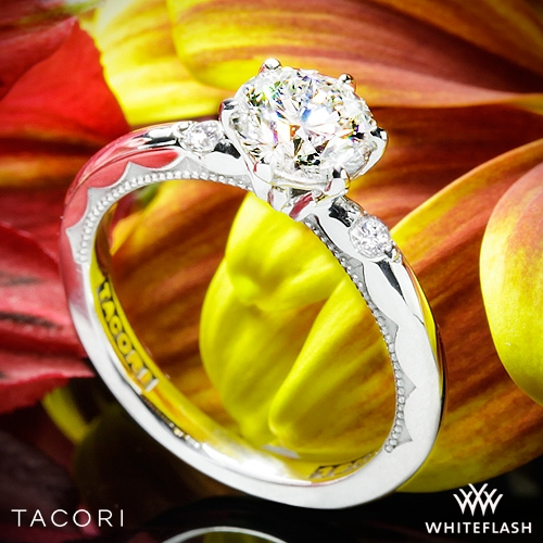 Tacori 56-2RD 3 Stone Engagement Ring