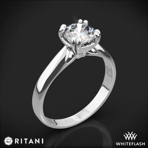Ritani 1RZ7242 Solitaire Engagement Ring