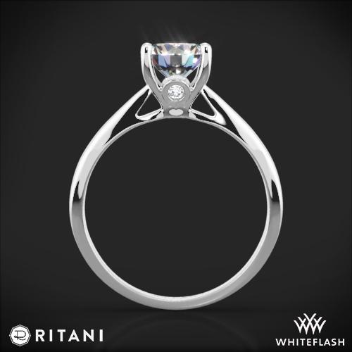 Ritani 1RZ7244 Solitaire Engagement Ring Whiteflash
