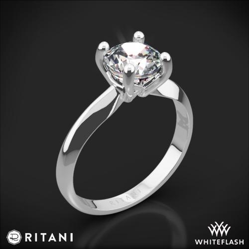 Ritani 1RZ7261 Knife-Edge Solitaire Engagement Ring