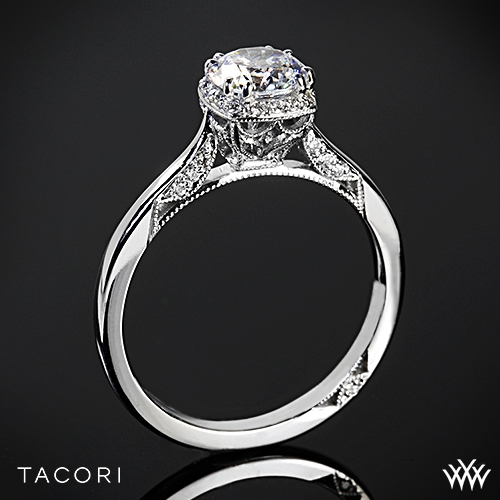 Tacori 2620RD Dantela Crown Complete Solitaire Engagement Ring