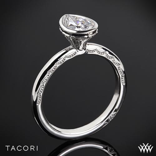 Tacori 300-2PS Starlit Petite Pear Bezel Solitaire Engagement Ring