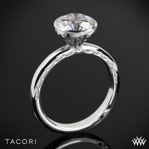 Tacori 300-25RD Starlit Classic Bezel Solitaire Engagement Ring