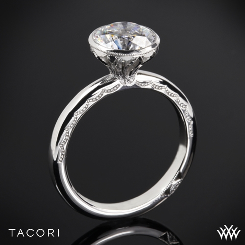 Tacori 300-2.5RD Starlit Classic Bezel Solitaire Engagement Ring