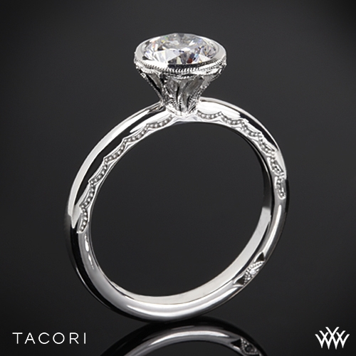 Tacori 300-2RD Starlit Petite Solitaire Engagement Ring
