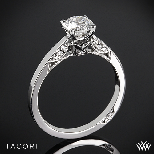 Tacori 3002 Simply Tacori Crescent Complete Solitaire Engagement Ring