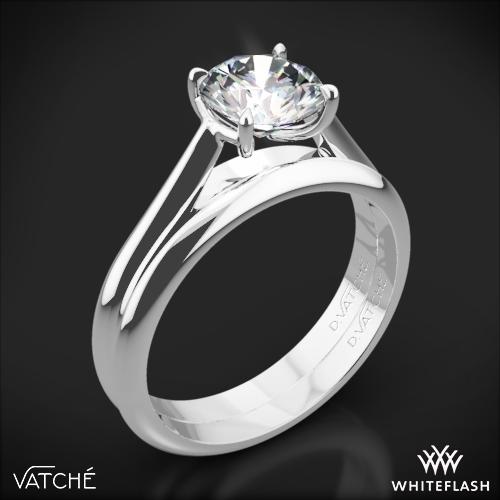 Vatche 1543 Mia Solitaire Wedding Set