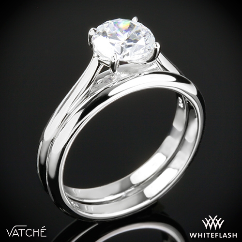 Vatche 1543 Mia Solitaire Wedding Set