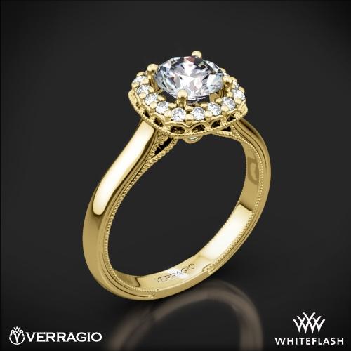 Verragio Classic 924CU Solitaire Engagement Ring