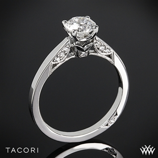 Tacori 3002 Simply Tacori Crescent Complete Solitaire Engagement Ring