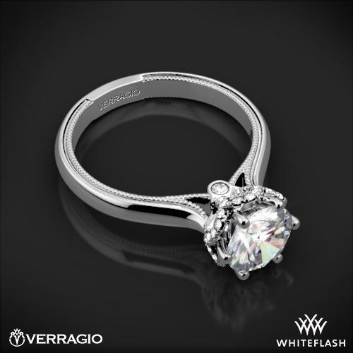 verragio 939r7 solitaire engagement ring 6 - Verragio Wedding Rings