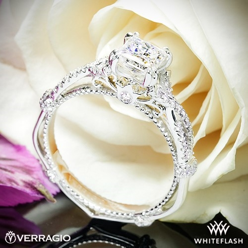 Verragio DL-105 Braided Diamond Engagement Ring
