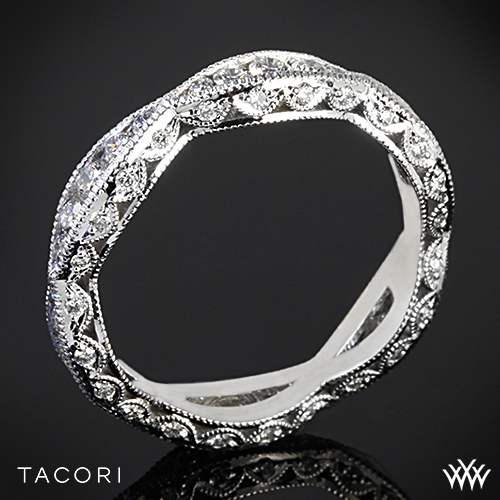 Tacori 2578B Classic Crescent Ribbon-Twist Diamond Wedding Ring