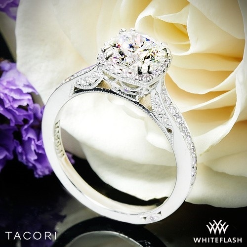 Tacori 2620RDP Diamond Engagement Ring