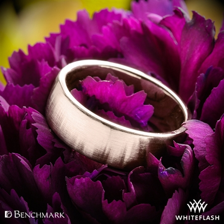 Benchmark CF717561 Euro Satin Wedding Ring
