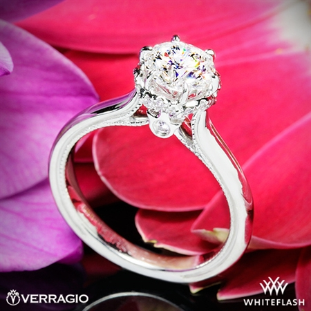 Verragio Classic 939R7 Solitaire Engagement Ring