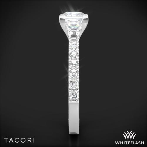 Tacori 32 2 PR Clean Crescent Half Eternity for Princess Diamond
