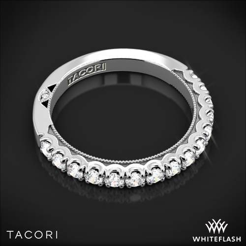 Tacori 33 25 Clean Crescent French Cut Diamond Wedding Ring 3313