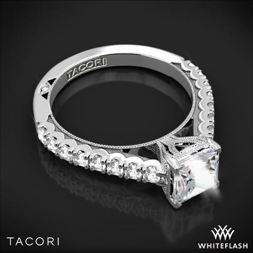 Tacori 35 2PR 55 Clean Crescent Diamond Engagement Ring